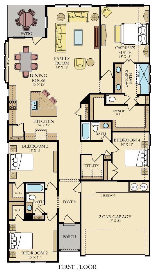Madura With Furniture Floor 1