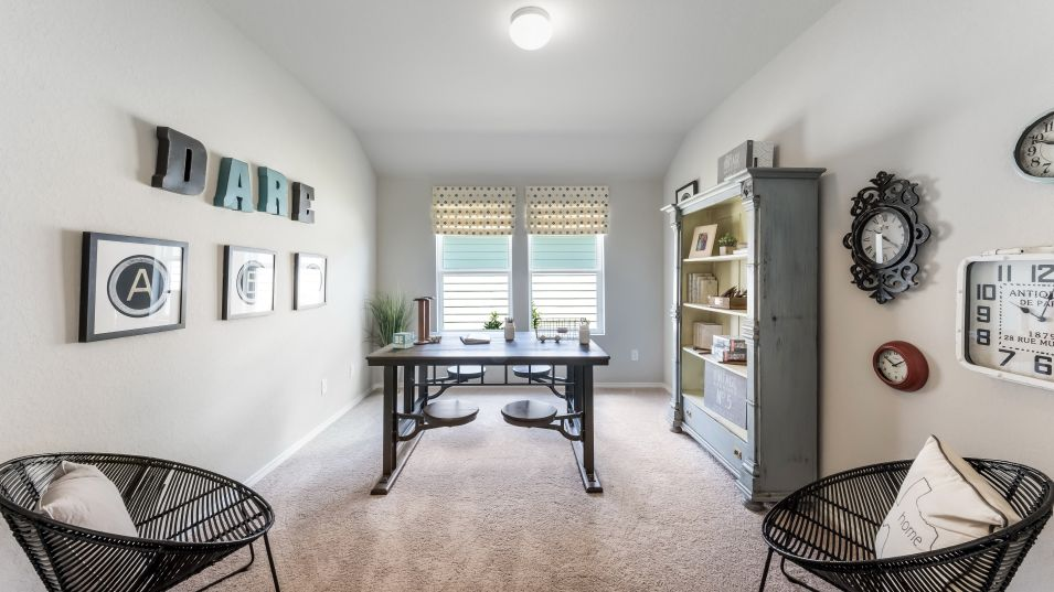 Hidden-Trails Westfield Collection Langley Retreat:This bonus space offers a wealth of possibility with flexibility for a den, office or home gym as ne