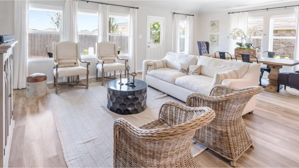 Hidden-Trails Westfield Collection Halstead II Liv:The comfortable living room is the perfect place to unwind with plenty of space for a couch and furn