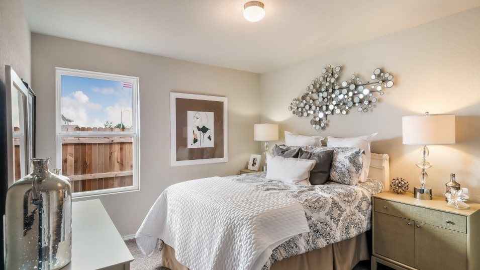 Waterwheel Cottage Collection Durbin Bedroom 2:The two secondary bedrooms are great for kids or can easily be converted to guests suites