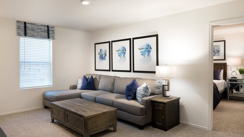 Republic Meadows Ridley Loft:A convenient loft on the second floor can be used as an additional living space.