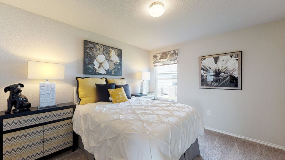 Republic Creek Abby Bedroom 2:Any of the secondary bedrooms can be easily transformed into a home office or guest suite