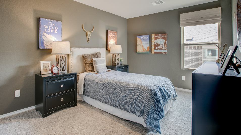 Cordova Crossing Barrington, Watermill & Westfield:With four bedrooms on the second floor, this home is perfect for growing families with kids who need