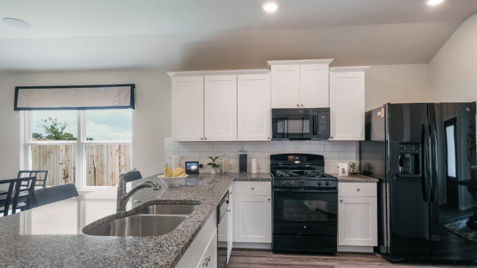Sage-Meadows Barrington Collection Abby Kitchen:The kitchen has an open layout that is perfect for dining and relaxing and features state-of-the-art