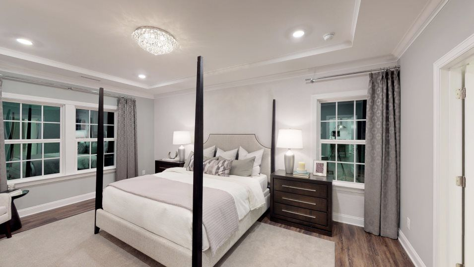 Bellewood Summit Collection Clayton III Owner's Su:Tucked in a back corner of the home for added privacy, the owner's suite is the perfect hideaway and
