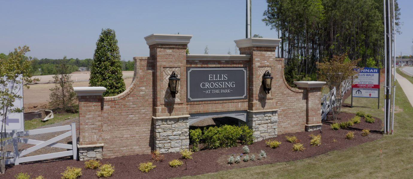 Ellis crossing sign