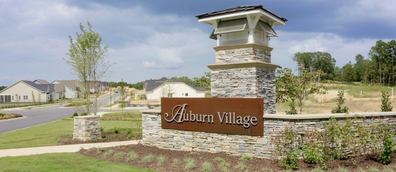 Auburn Village Sign