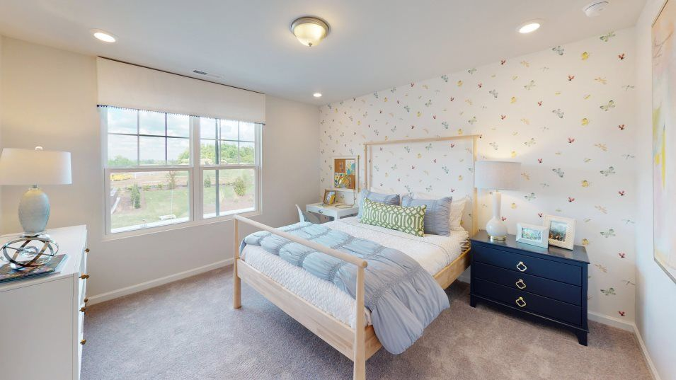 Geneva Hanover Hanover Collection Chadwick Bedroom:Both secondary bedrooms are next to each other on the second level, ideal for young residents with s