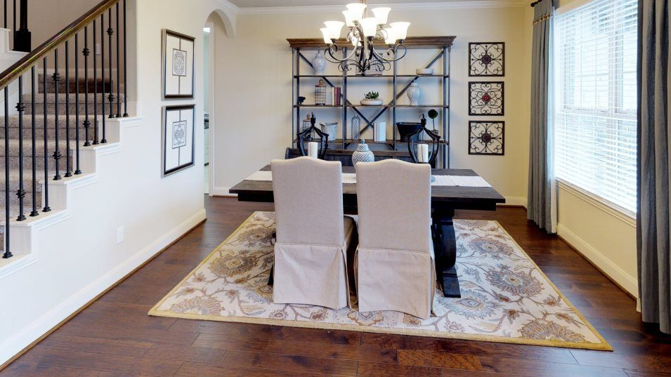 Tavola Vista Collection Big Bend Dining Room:A formal dining room offers a more private space for any occasion from birthday celebrations to nigh
