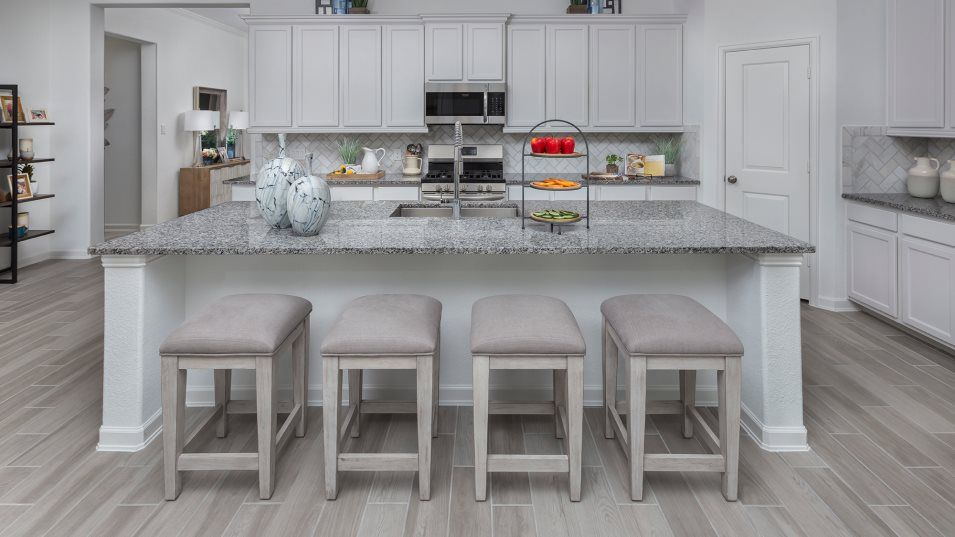 Walnut-Creek Fairway Collection Cabot Kitchen:With stainless steel appliances, a walk-in pantry and a center island offering ample breakfast-bar s
