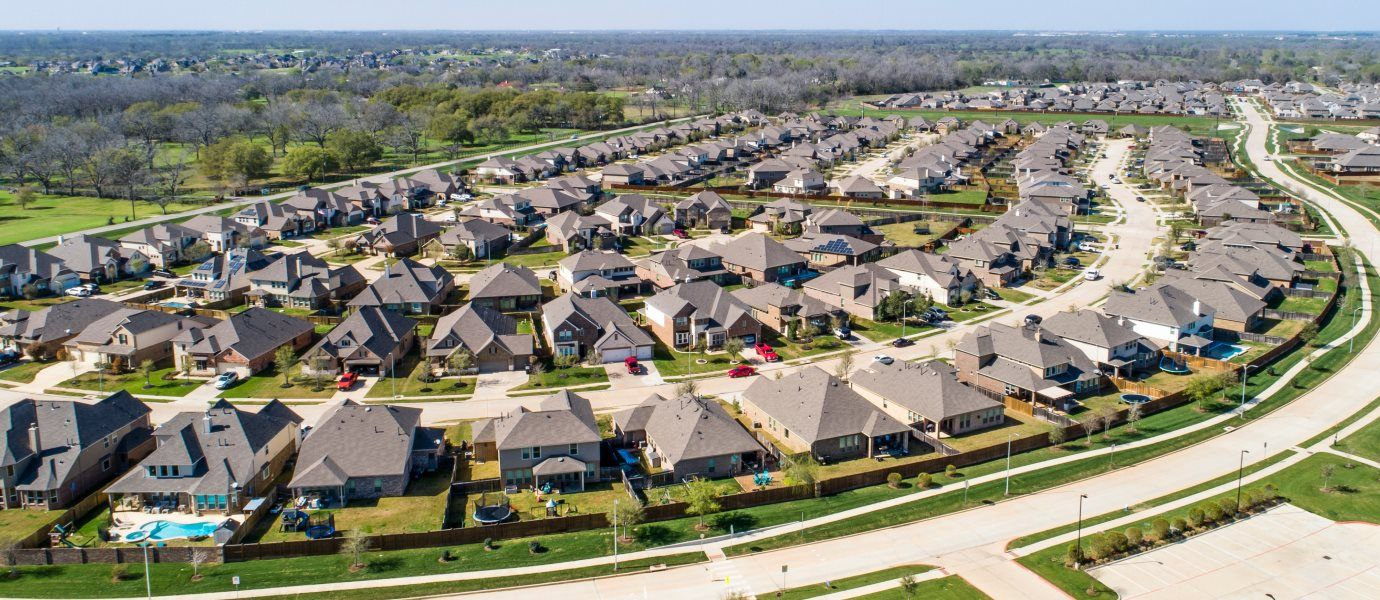 Aerial view of McCrary Meadows