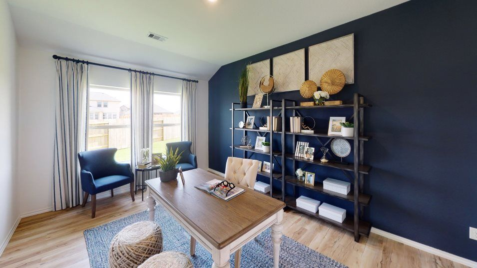 McCrary-Meadows Wildflower Collection Hanover Stud:The study provides a flexible space for homeowners that's endlessly transformable to fit their needs