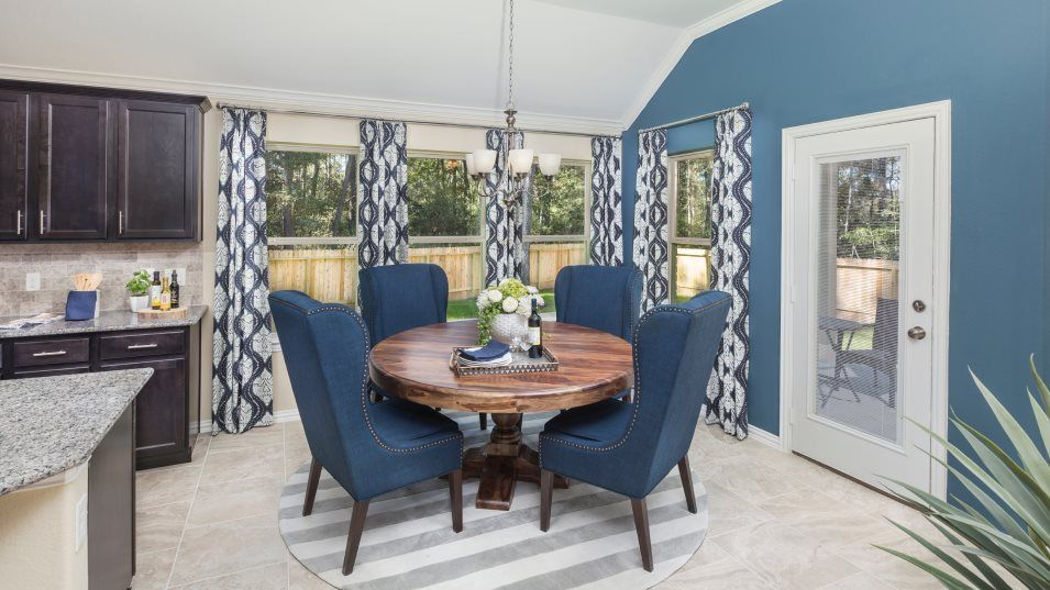 The-Groves Brookstone Collection Radford II 3796 D:The dining room allows effortless get-togethers for any occasion with an intuitive design that exten