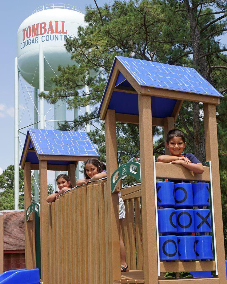 Tomball Park Playground