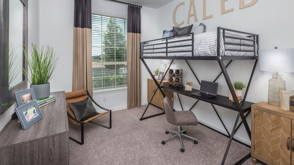 Alexander-Estates Fairway Collection Cantaron Bedr:The secondary bedrooms offer private spaces for family members, easily accommod