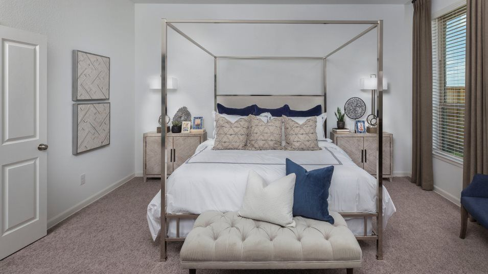 Dellrose Fairway Collections Cantaron Owner's Suit:The restful owner's suite highlights a private bathroom with a spa-like shower and generous walk-in