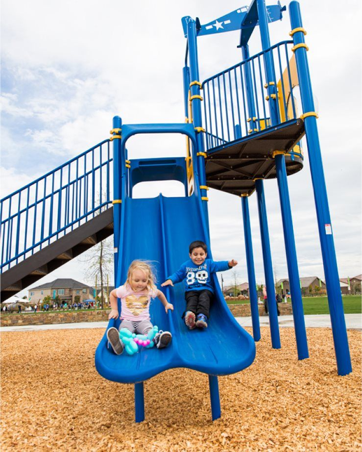 Gossamer Grove younger residents onsite playground