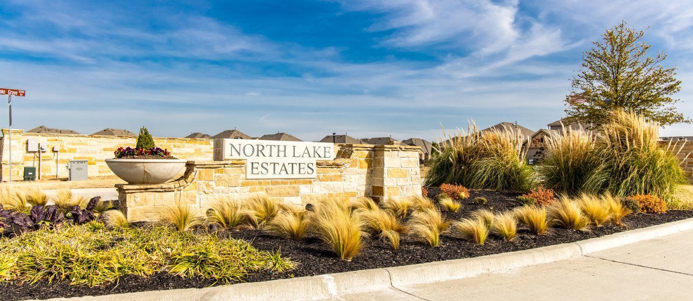 Northlake Estates Brookstone Entrance Sign