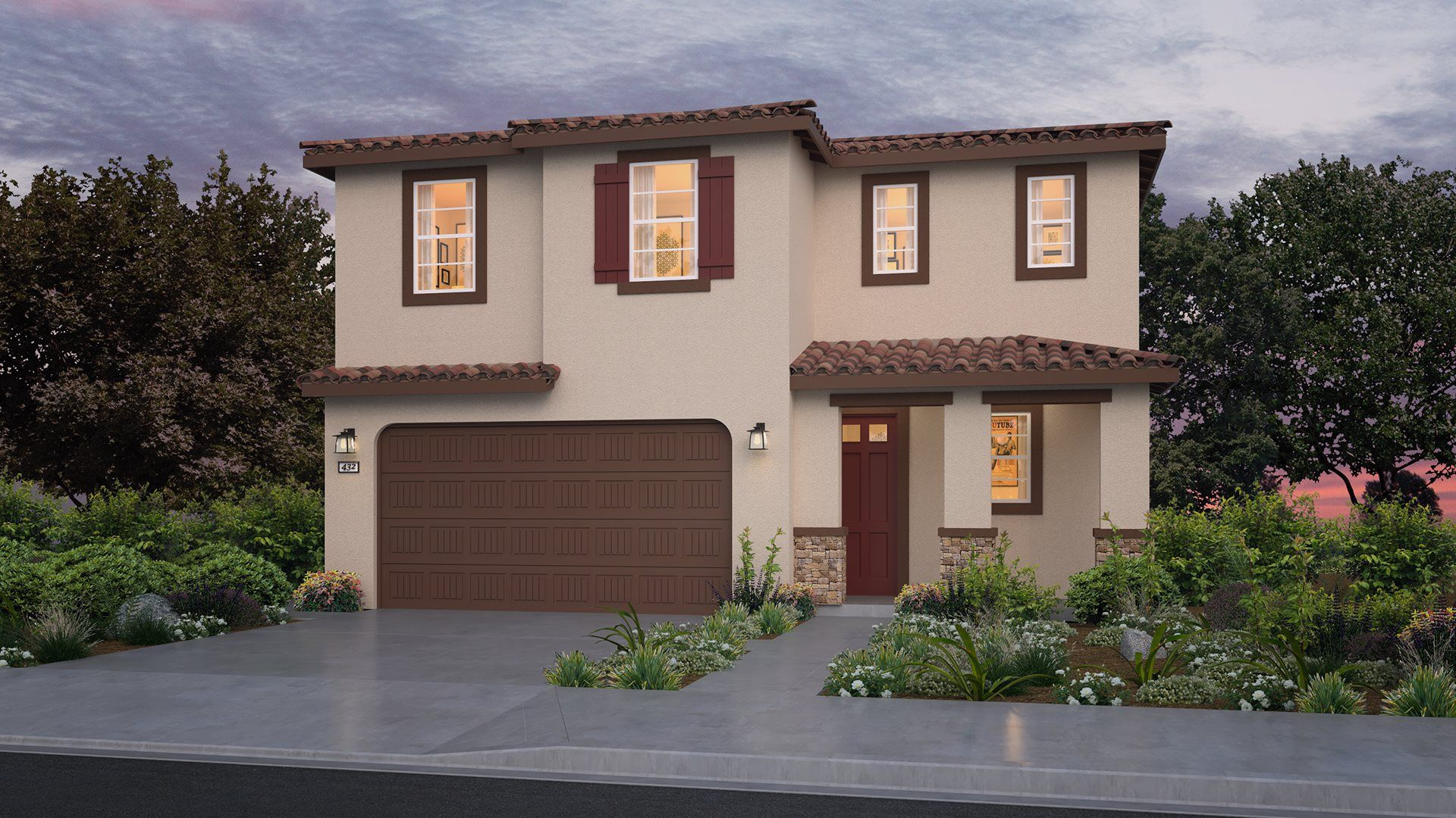 Residence 2114 | Elevation B