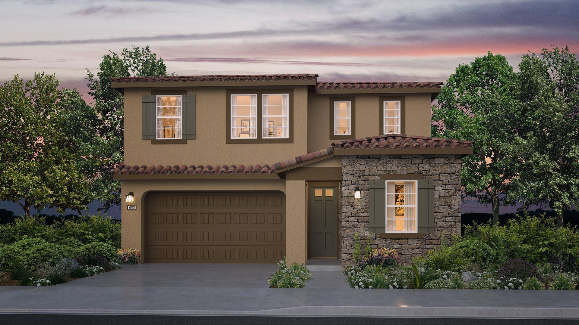 Residence 2223 | Elevation B