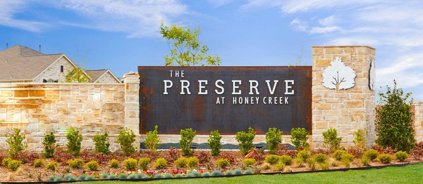 Preserve at Honey Creek Entrance