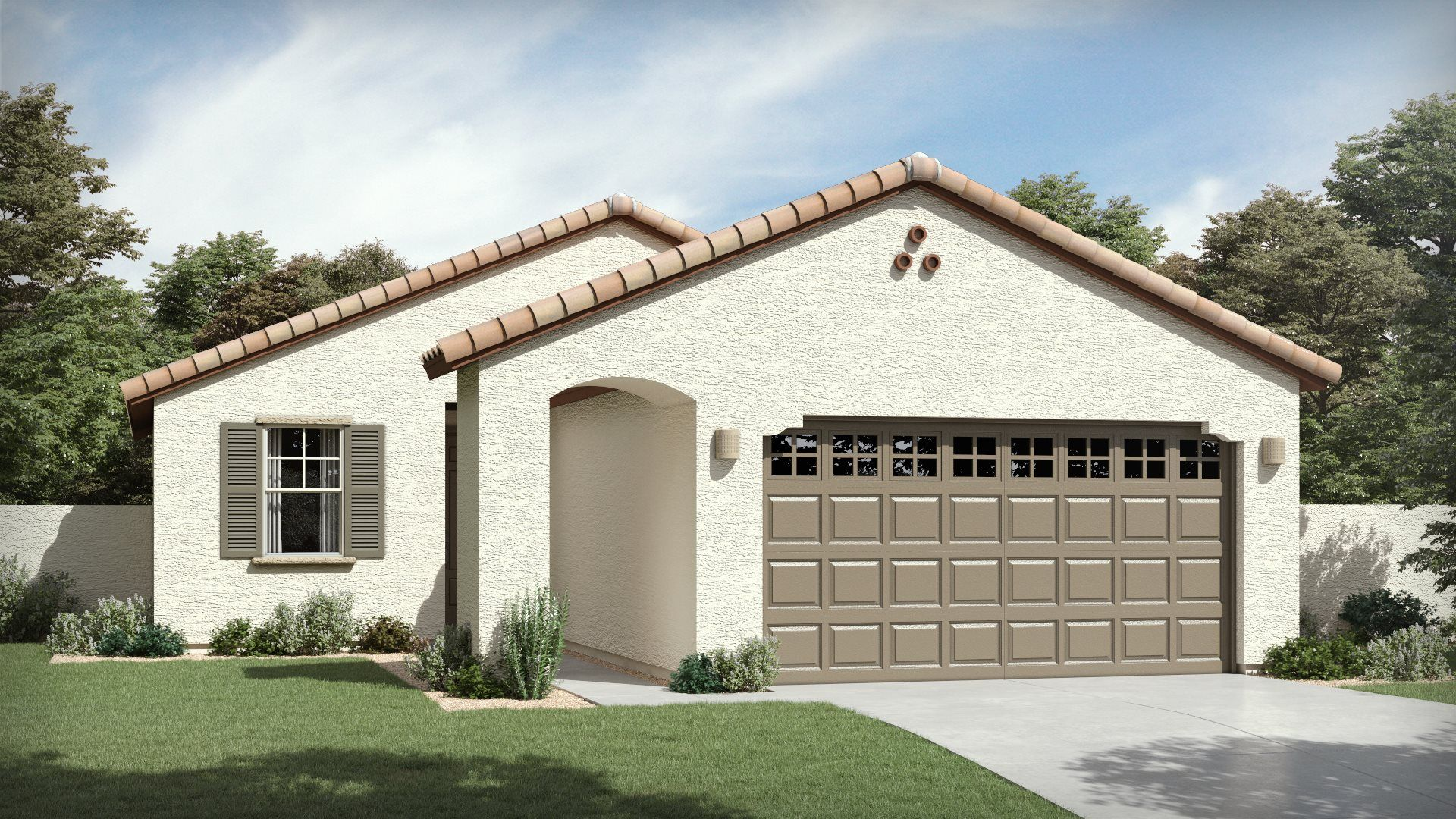 Bisbee Plan 3565 A Spanish Colonial