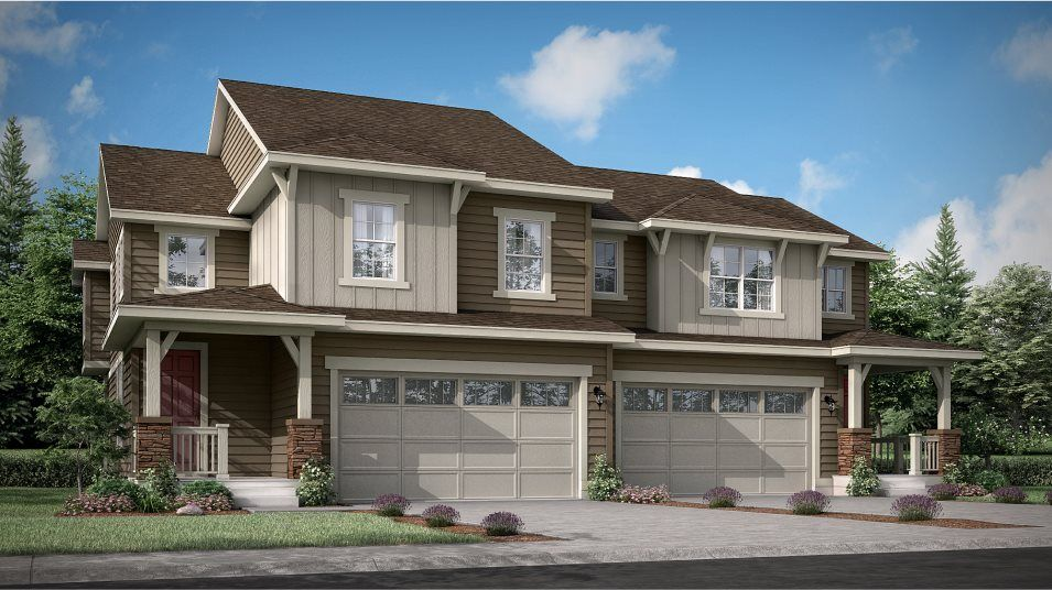 Buffalo Highlands Paired Homes Plateau Craftsman C