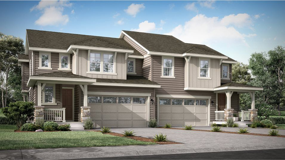 Buffalo Highlands Paired Homes Ascent Craftsman