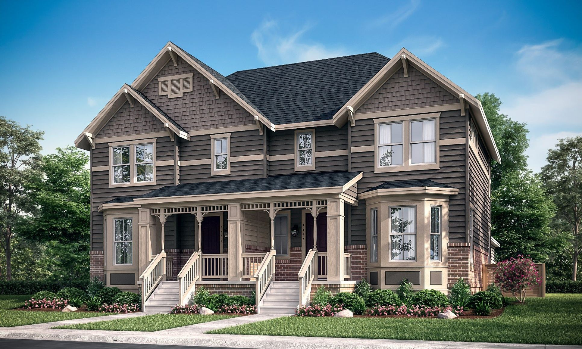 Lucent Left Colonial Exterior
