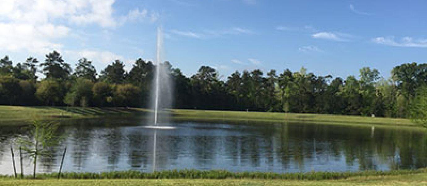 Ladera Creek Fountain Lake