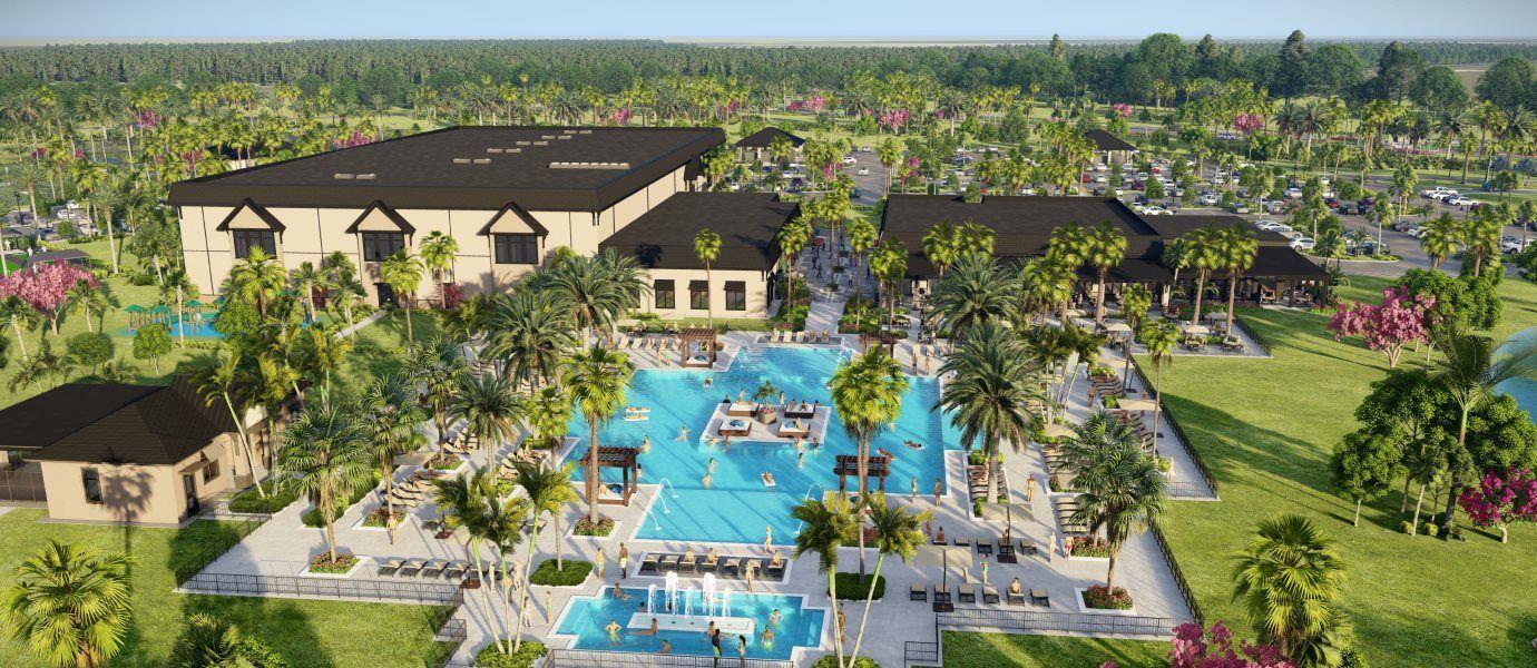 Verdana Village amenity pool and spa