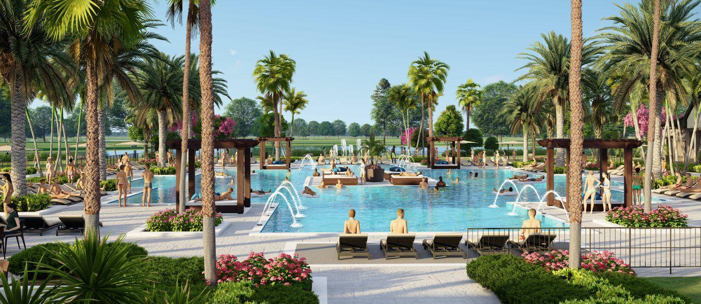 Verdana Village amenity swimming pool