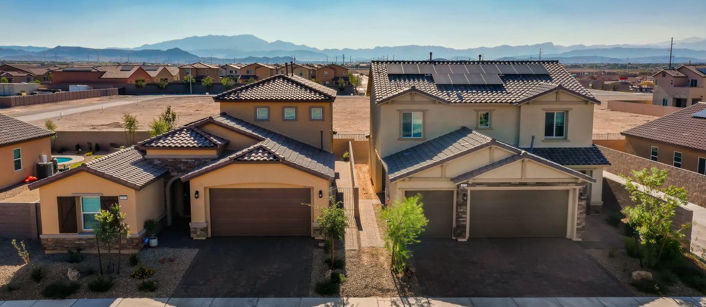 Silverado Valley Enclave Community Aerial Photo