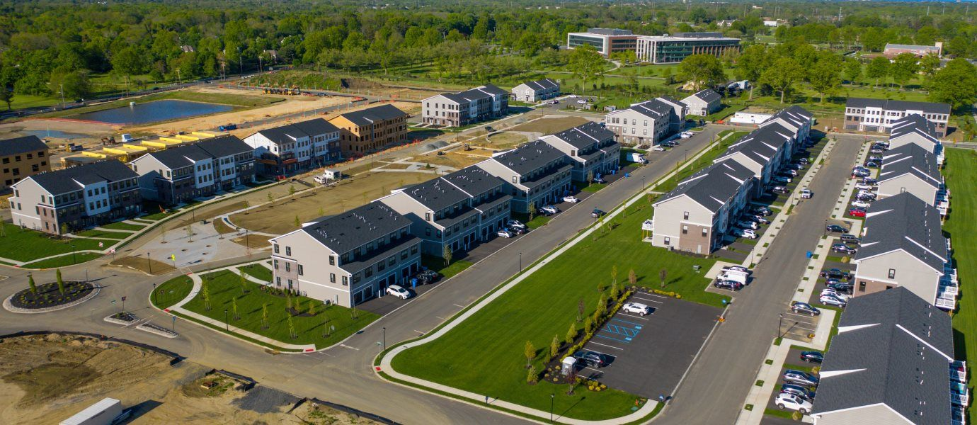 Patriots Square Aerial view