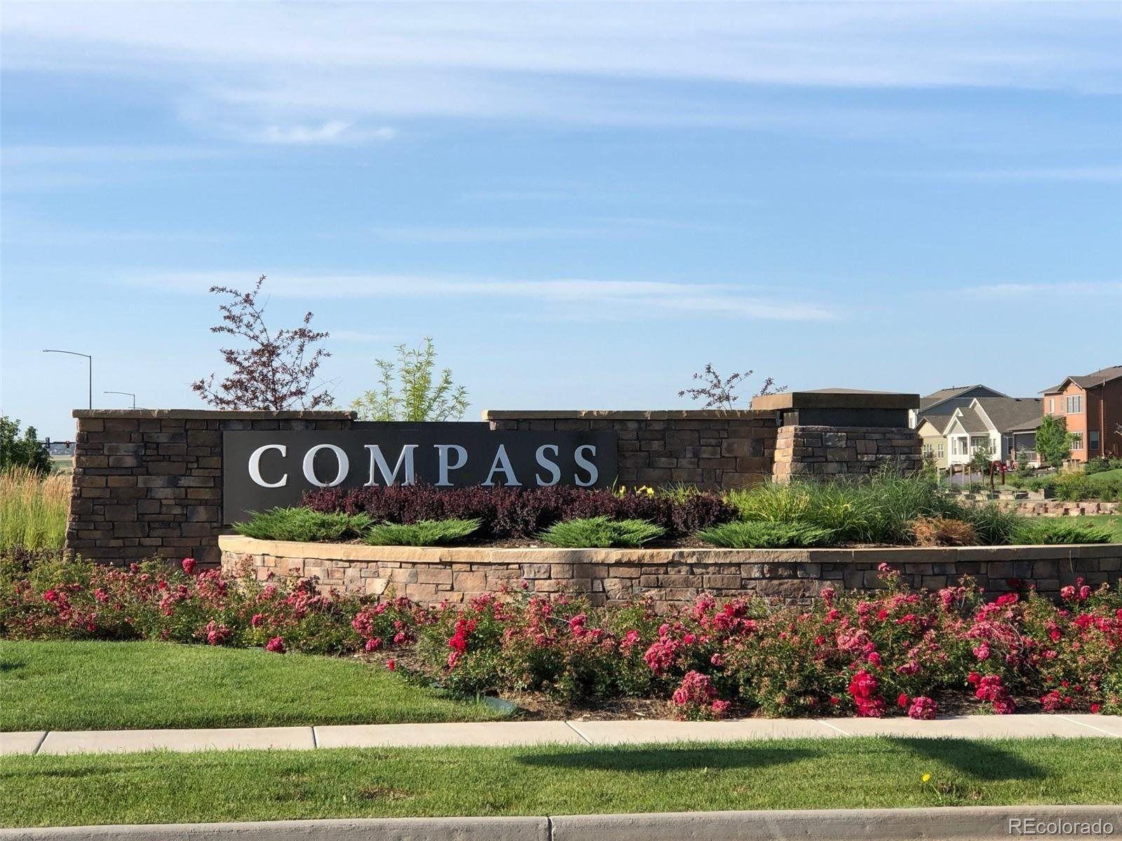 Compass Community Sign