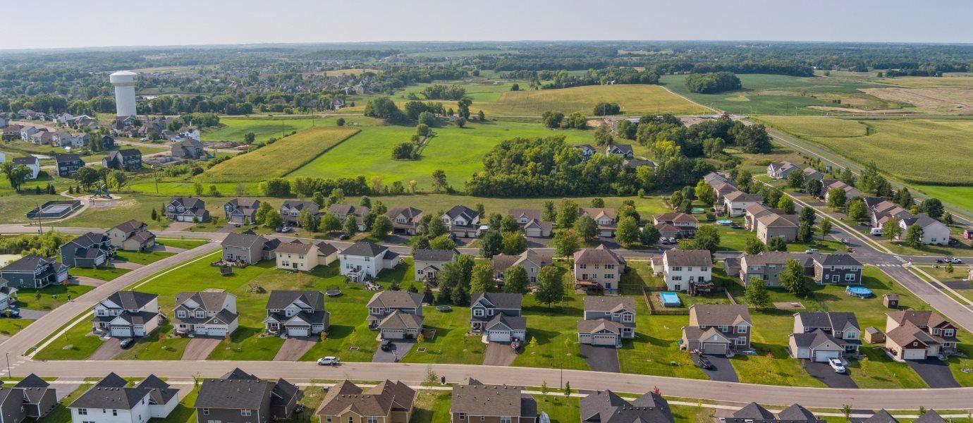 Highland Ridge Aerial View