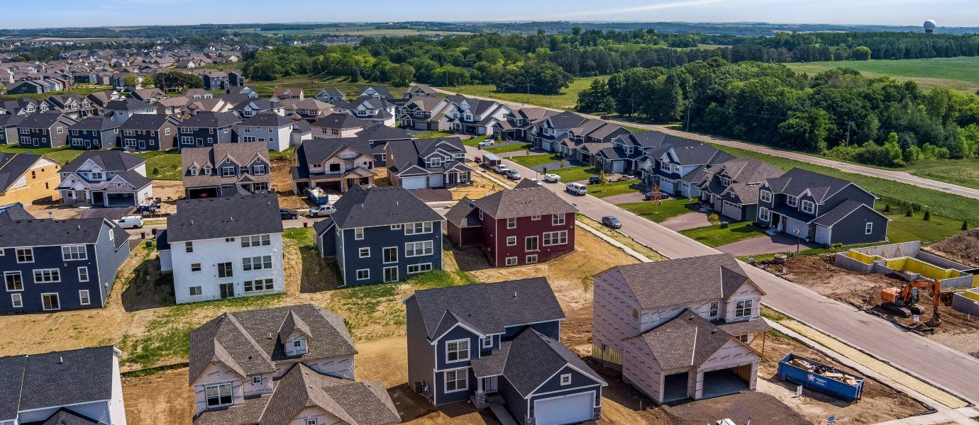 Lifestyle Villa Collection at Bridlewood Farms Aerial View