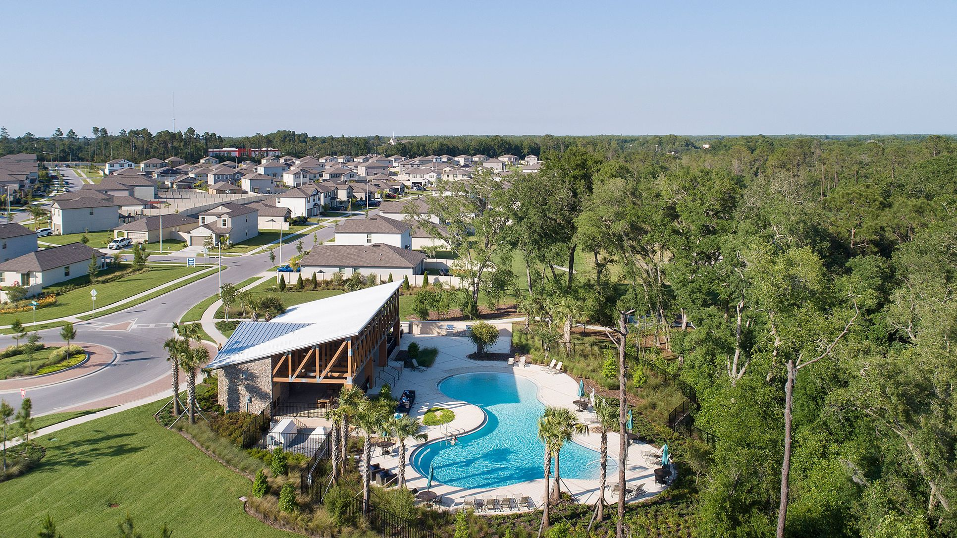 Copperspring swimming pool