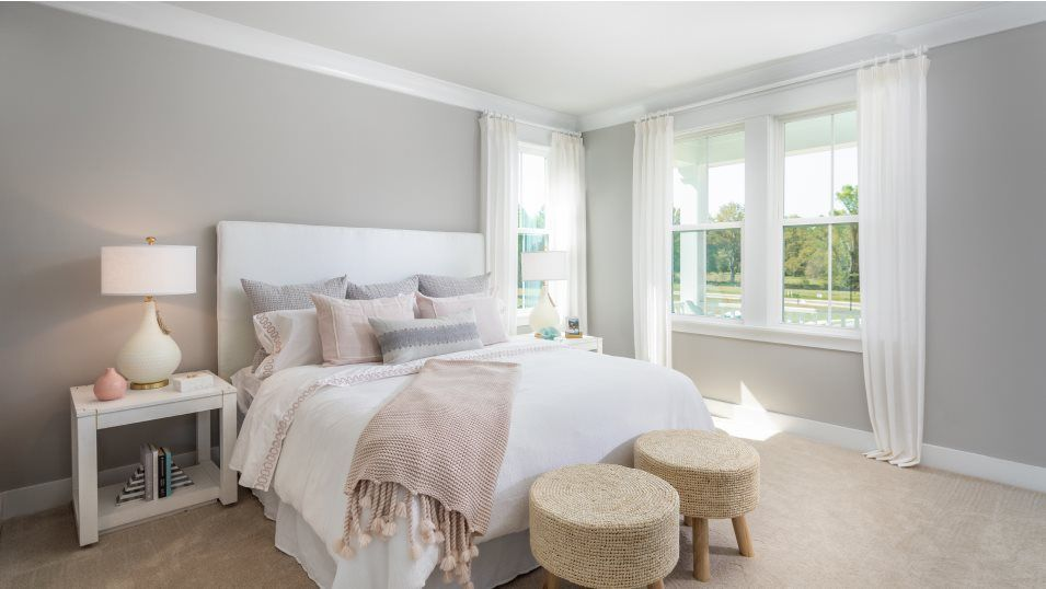 Carolina Park The Village PINCKNEY Owner's Suite:Perfect for rest and relaxation, the lavish owner s suite hosts a serene bedroom with a private balc
