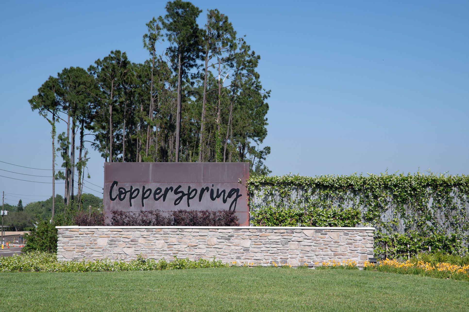 Copperspring sign