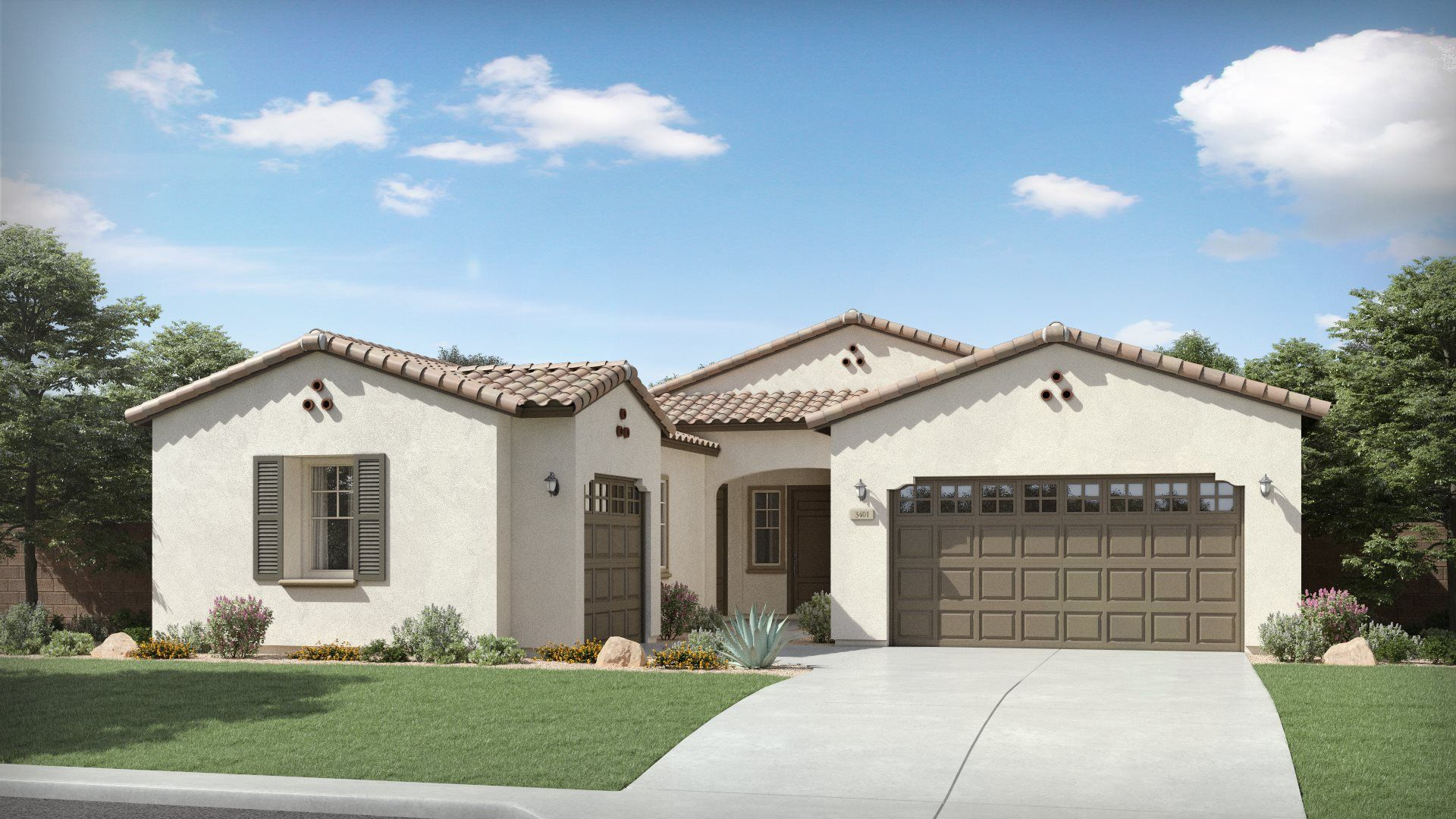 Oracle Plan 5080 A Spanish Colonial