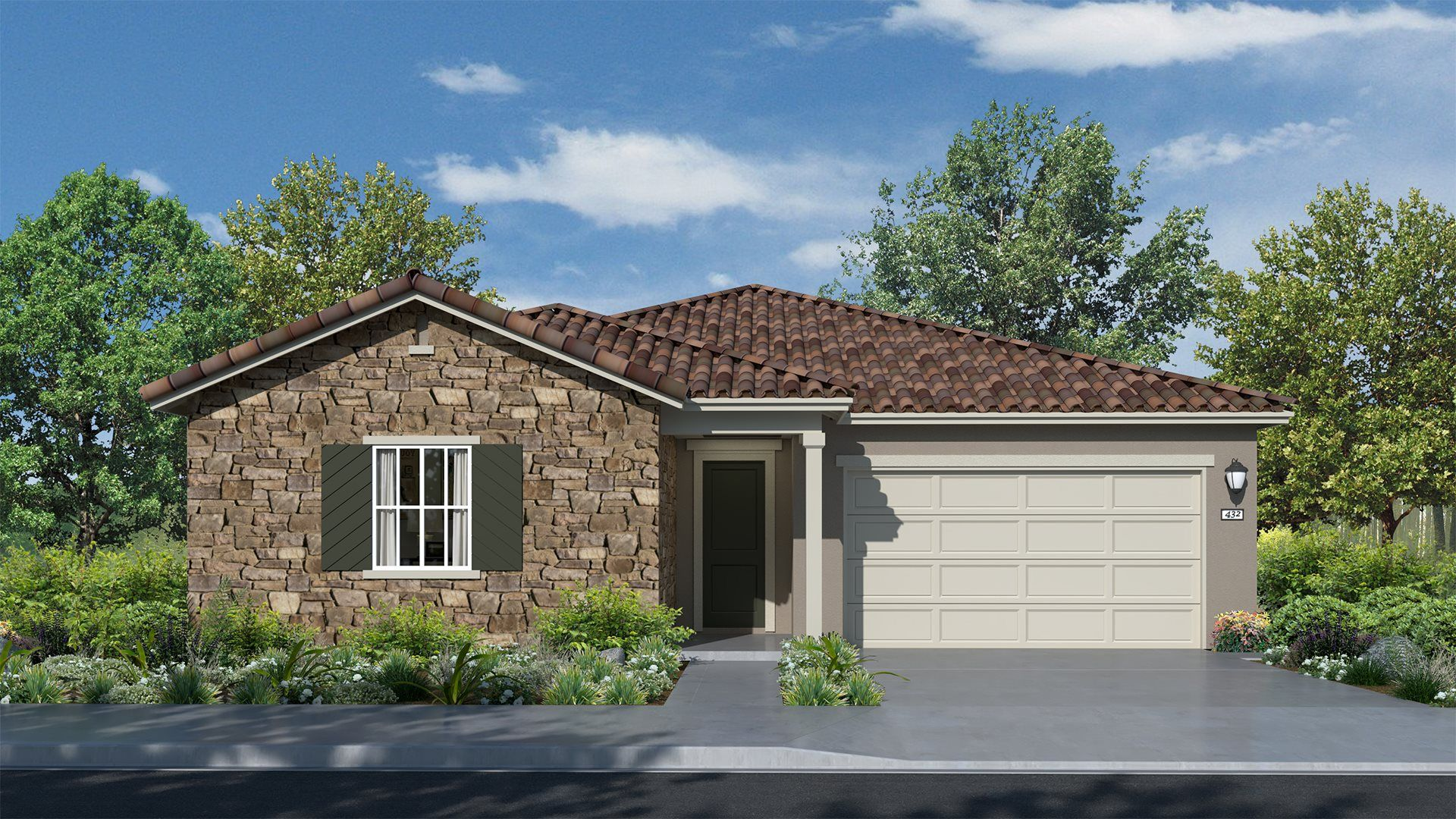 Residence 2162 | Elevation A