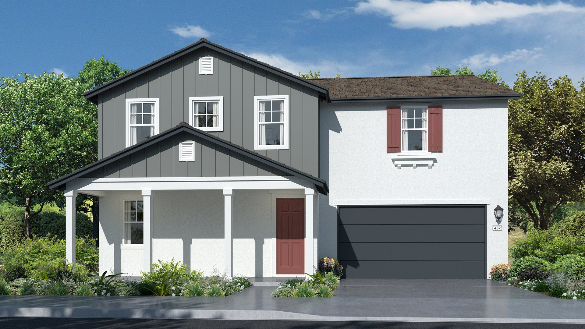 Residence 3028 | Elevation A