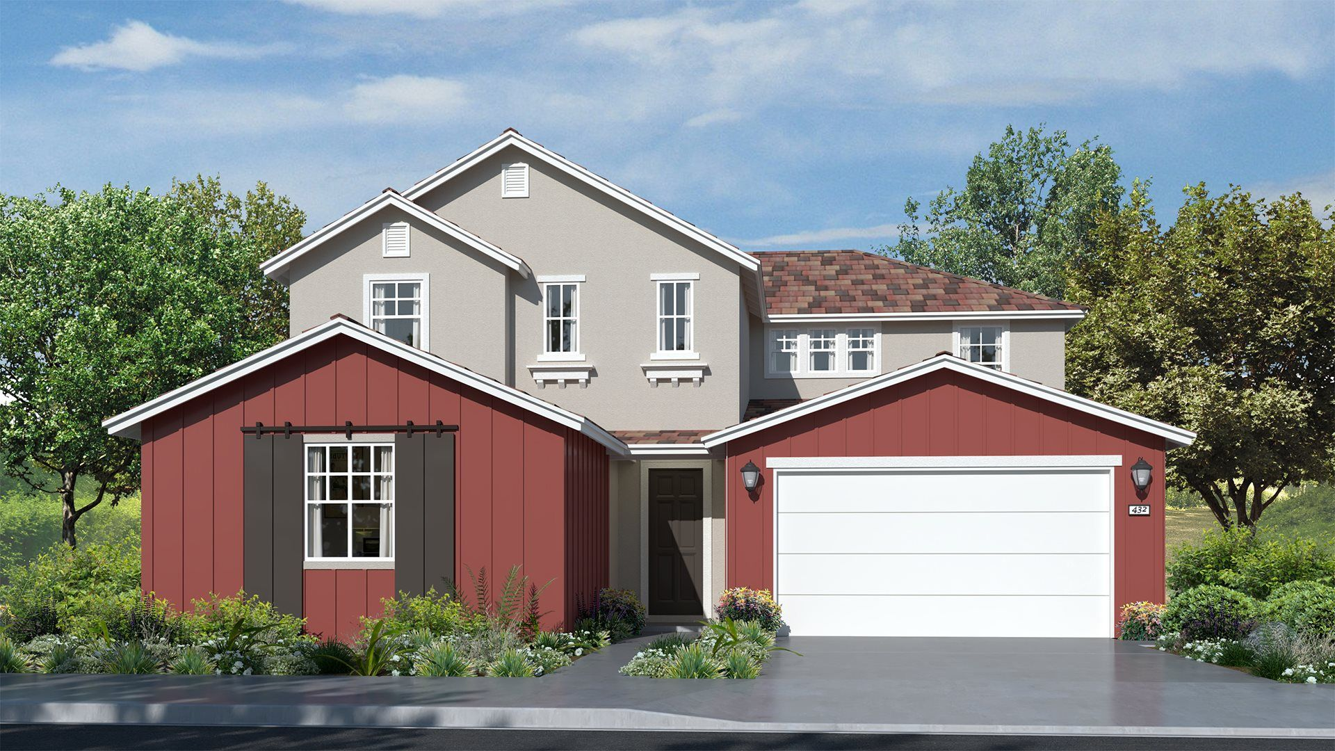 Residence 3135 | Elevation A