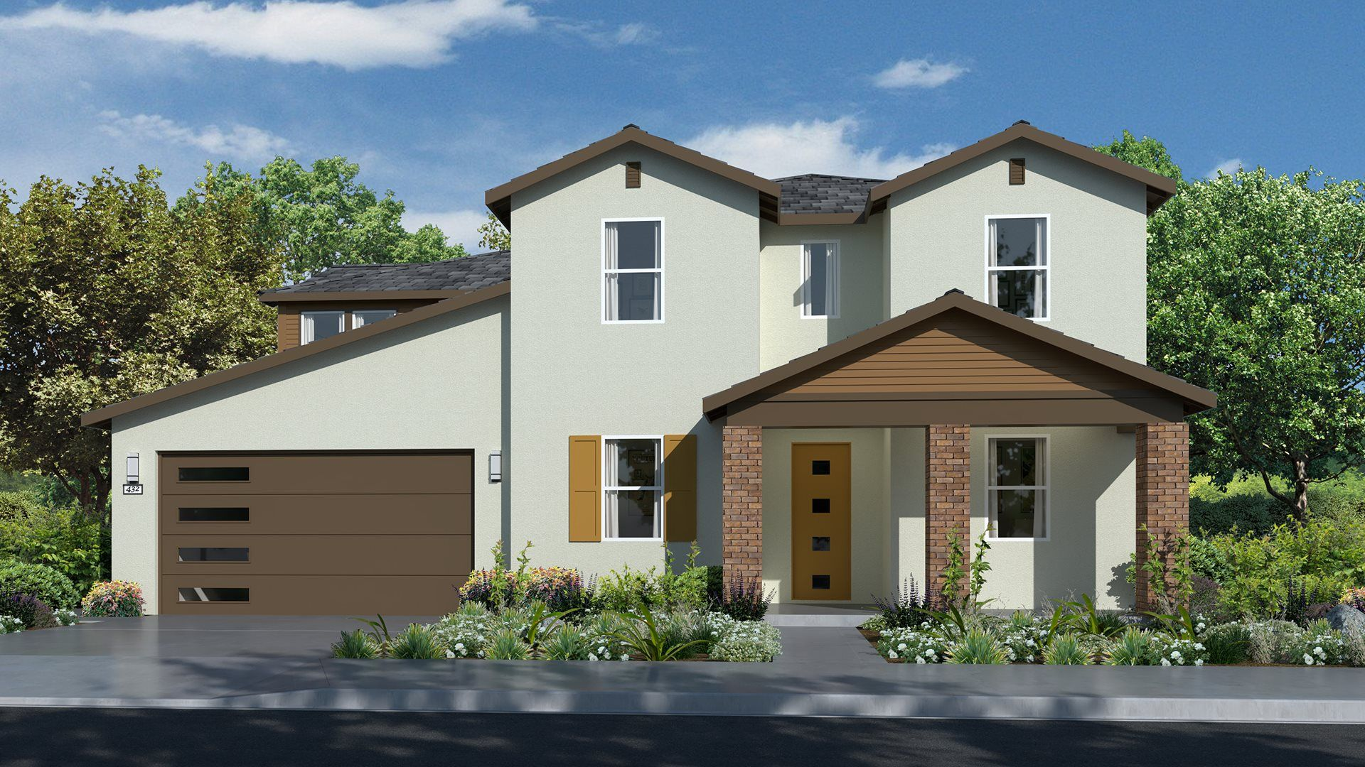 Residence 3940 | Elevation A