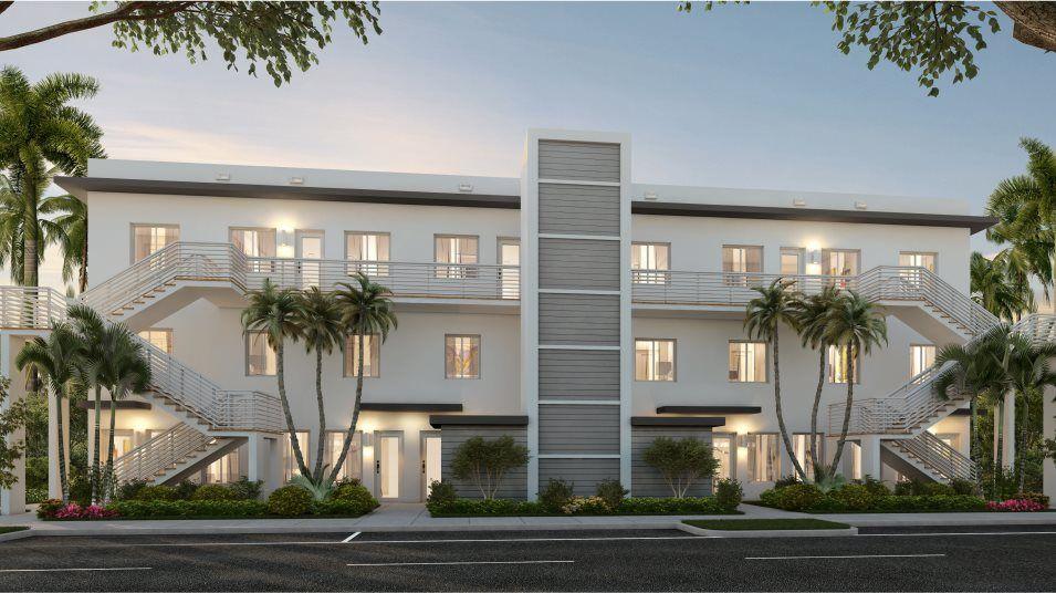 Landmark Condominiums Model D Exterior A