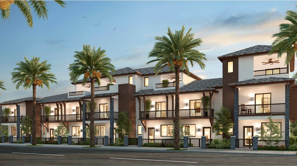 Urbana 2-Story Townhomes MODEL CA Exterior A