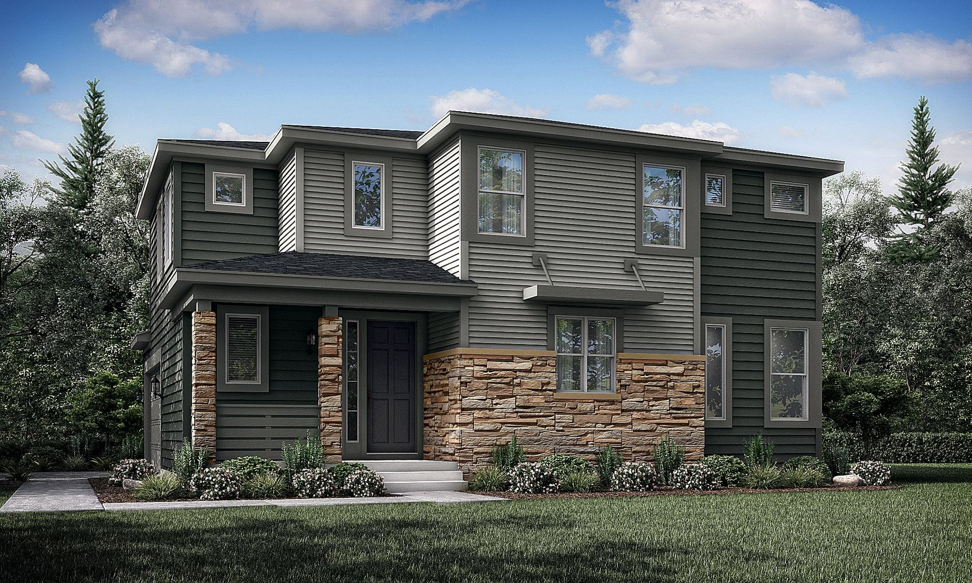 Sterling Ranch: The Elements Evergreen Exterior Fa