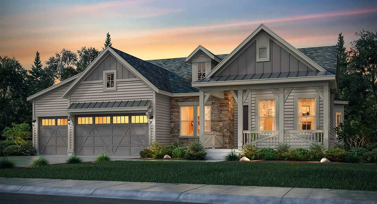 Trevino Plan at Castle Valley - The Legends Collection in ...