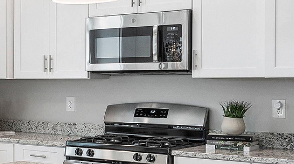 Venue at Woodlands Saratoga Kitchen Appliances